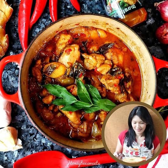 Kam Heong Chicken (Serves 2)