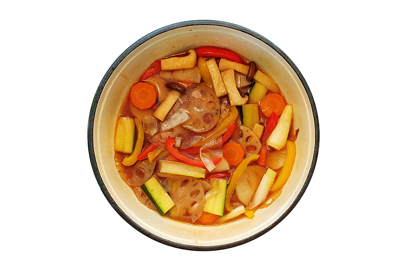 Simmered Winter Veggies