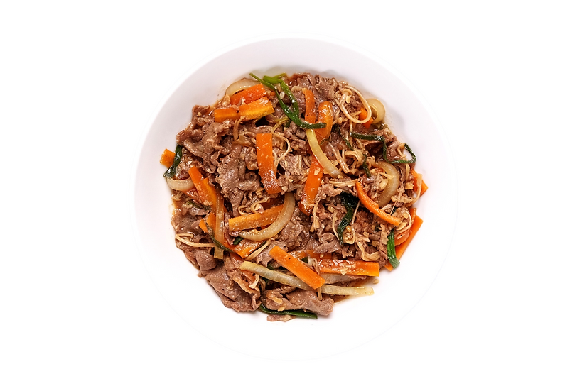 Quick Braised Beef Bulgogi