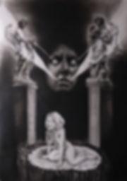 Annonciation de la fin de l'autoportrait