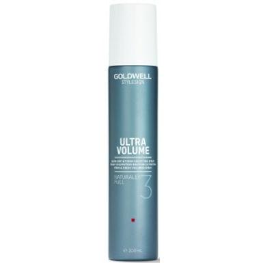 Goldwell Ultra Volume Naturally Full, Spray Volumateur Brushing et Finition