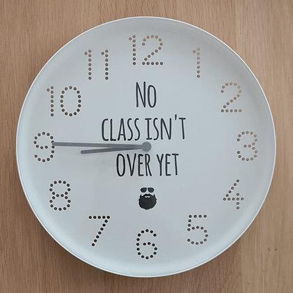 Klok voor in de klas(Engels)
