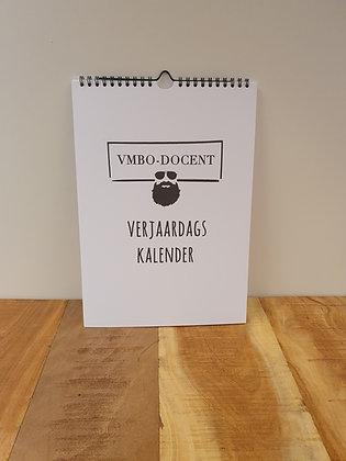 VMBO-docent Verjaardagskalender