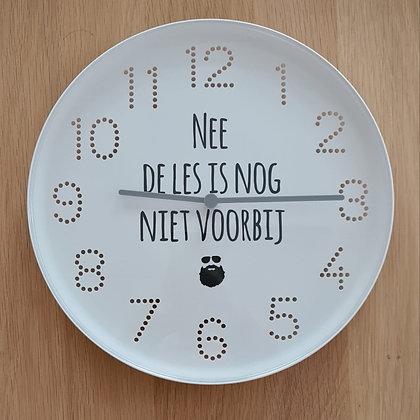 Klok voor in de klas (Nederlands)