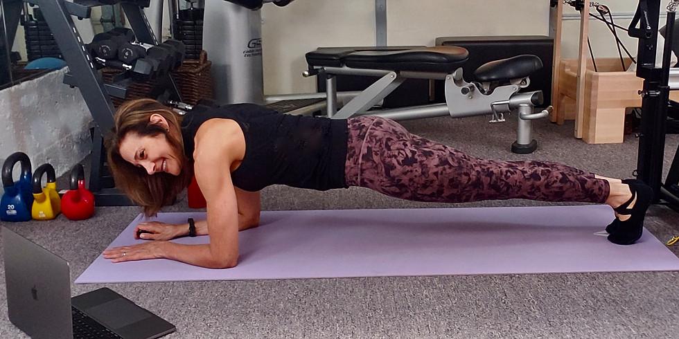 Thursday's @ 12 - 12:45PM  Rejuvenate Pilates (ZOOM)