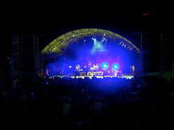 Performing with Joi at Womad