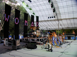 Performing with Joi - Womad