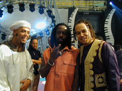 Performing with Joi on the Jols Holland show alongside Wyclef