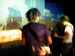 Performing with Kinobe at The ICA