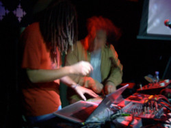 Performing with Afro Kazbah at Hubble Bubble London