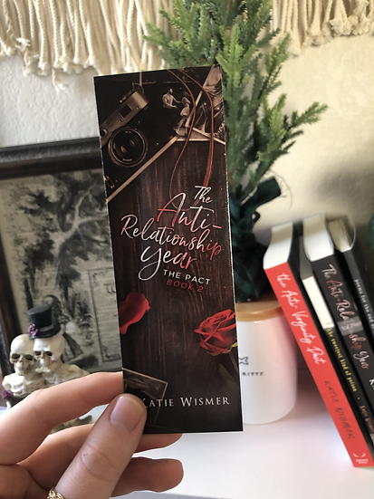 The Anti-Relationship Year Bookmark