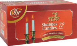 Shabbat Candles, Standard