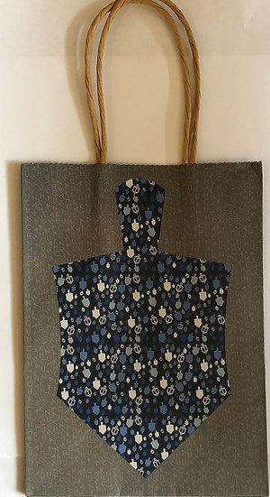 Chanukah Gift Bag, Paper. Small
