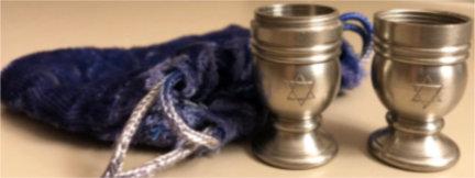 Shabbat Travel Candlesticks