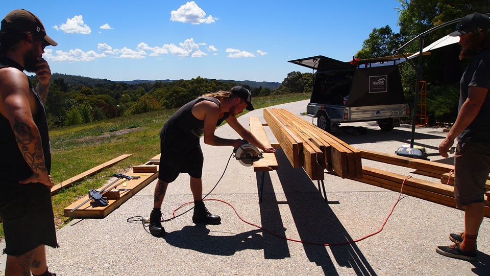 Rafter preparation