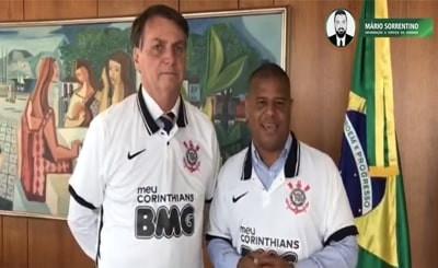 Marcelinho Carioca perde contrato após sua aparição com Bolsonaro