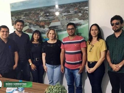 Prefeitura de Alhandra celebra convênio com UFCG para elaboração do Plano Municipal de Saneamento