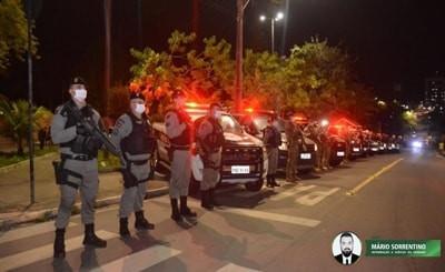 Operação Impacto volta às ruas para reforçar a segurança durante o fim de semana em várias cidades
