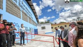João Azevêdo entrega ginásio paradesportivo do Instituto dos Cegos e reforça compromisso com a in...