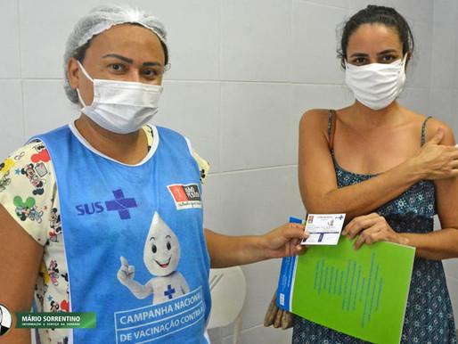 João Pessoa começa a vacinar pessoas de 18+ com deficiência, comorbidade e trabalhadores de saúde