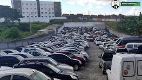PRF realiza leilão virtual de carros recolhidos em João Pessoa e Campina Grande