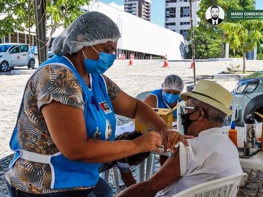 Prefeitura de JP amplia número de postos para aplicação da segunda dose da vacina contra a Covid-19