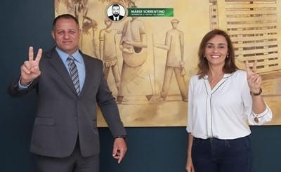 Ana Cláudia oficializa sargento da PM como pré-candidato a vice-prefeito de Campina Grande