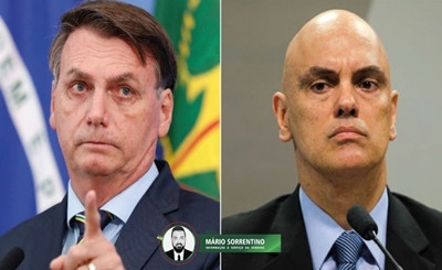 Bolsonaro entra com ação no STF contra bloqueio de perfis de aliados nas redes sociais