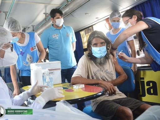 Prefeitura de João Pessoa mobiliza equipe da saúde para vacinar população em situação de rua