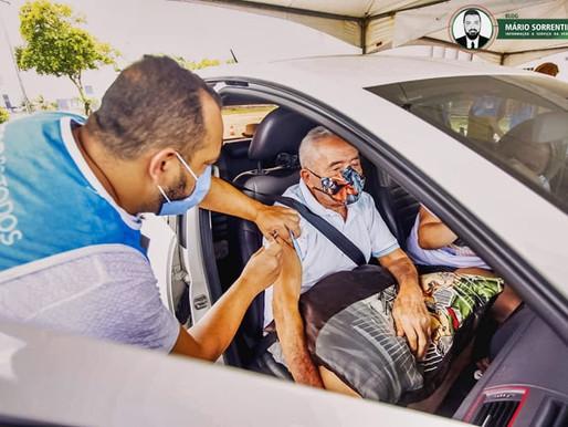 João Pessoa avança imunização com 2ª dose da vacina contra Covid-19 para o grupo com 76 anos ou mais
