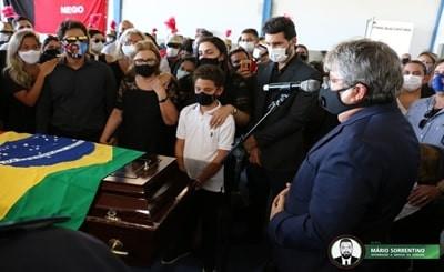 João Azevêdo presta homenagem a José Maranhão e destaca trajetória honrada de ex-governador