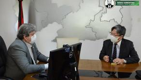 João Azevêdo apresenta potenciais econômicos e investimentos do estado ao cônsul-geral do Japão