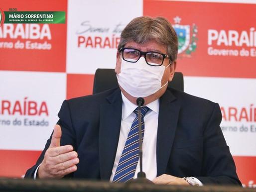 Mídia nacional repercute apelo de João Azevêdo para que cerca de 70 mil paraibanos tomem a 2ª dos...