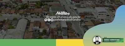 Em virtude da pandemia, Prefeitura de Alhandra adia festa de emancipação dos 61 anos do município