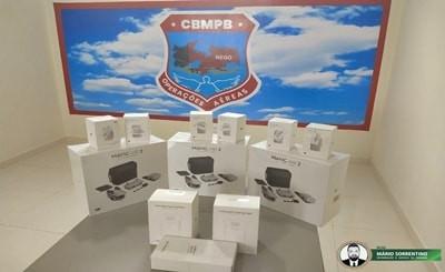 Corpo de Bombeiros amplia ações com aquisição de novos drones