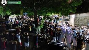 Polícia Militar encerra festa de torcida organizada com mais de mil participantes e apreende drogas