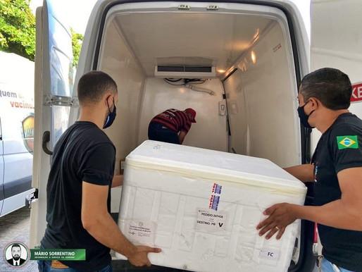 Paraíba distribui mais uma remessa de doses da vacina contra Covid-19 para todos os municípios