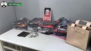 PMPB apreende suspeitos que compraram roupas pela internet e assaltaram o proprietário na hora d...