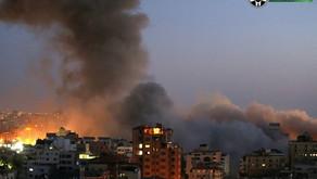 Vídeo: Israel ataca e destrói prédio residencial de 13 andares em Gaza