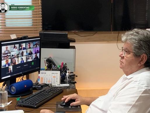 João Azevêdo participa de instalação da Câmara Temática da Segurança Pública do Consórcio Nordeste