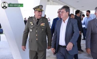 João Azevêdo destaca tranquilidade das eleições na Paraíba