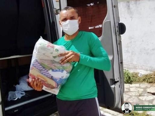 Governo da Paraíba entrega mais cestas básicas para trabalhadores de atividades turísticas