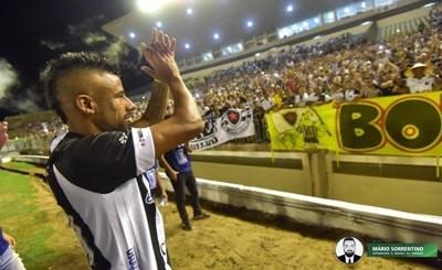 Botafogo-PB anuncia a saída de Léo Moura, que se despede após quase 9 meses