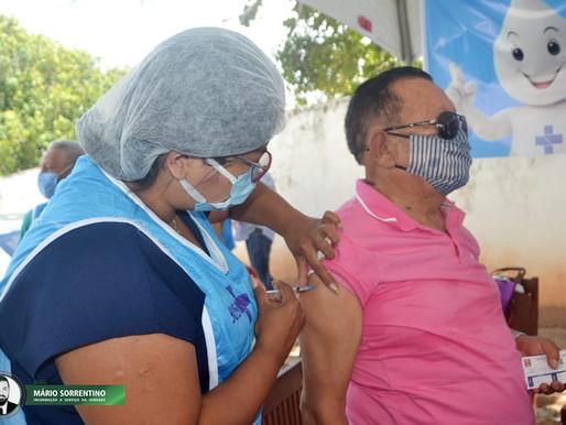 Prefeitura de JP vacina mais de 13 mil pessoas com mais de 60 anos e campanha segue neste domingo