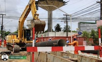 Subadutoras vão ampliar capacidade de distribuição de água em 21 bairros de João Pessoa