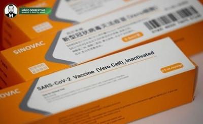 Ministério anuncia compra de 46 milhões de doses da vacina CoronaVac e diz que imunização começ...