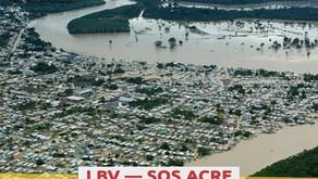 LBV  promove Campanha SOS ACRE para atender famílias afetadas pelas chuvas
