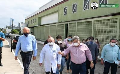 João Azevêdo decide colocar unidade I da Frei Damião em funcionamento para tratamento de pacient...