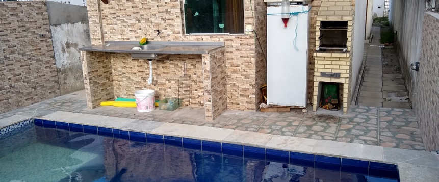 Casa com piscina em Jacumã