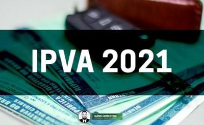 Sefaz libera consulta do valor do IPVA 2021 em seu portal